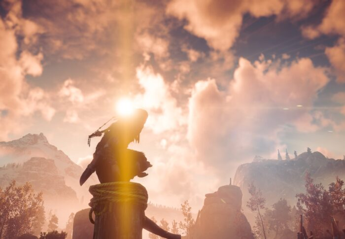 Horizon Zero Dawn: Grabbed from the first moment.